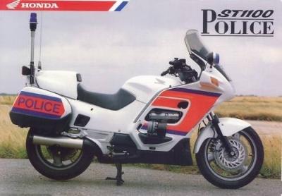 Honda ST1100 Police Spec Brochure