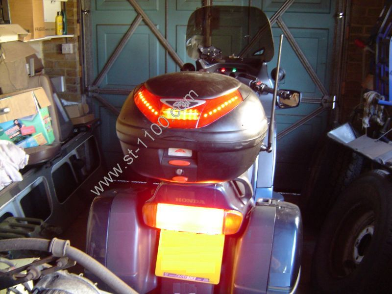 Motorcycle high level brake lights